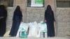 تعز / توزيع المساعدات الغذائية في محافظة تعز عبر مشروع التغذية المدرسية والاغاثة الانسانية لشهر فبراير 2021 م .