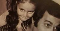 رانيا محمود ياسين تتذكر والدها حلمت بيك يا بابا وشفتك شاب فى الثلاثينات