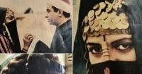 3 صور التقطها نور الشريف لهالة صدقى فى كواليس فيلمها قلب الليل