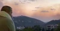 فيديو لـ جورج وسوف بقريته السورية المحاصرة بالحرائق يثير تفاعلا على السوشيال