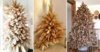 أشجار الكريسماس المجففة موضة جديدة فى أعياد استقبال 2021 الأخضر راحت عليه
