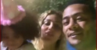 محمد رمضان وزوجته يحتفلان بعيد ميلاد ابنتهما كنز فى حفل مبهج صور