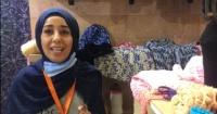 شيماء تتحدى الإعاقة بالخيط والإبرة ولقاء الرئيس السيسى منحها الأمل فيديو