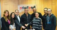 اليوم السابع يحتفل بـ ريهام عبد الغفور بعد نجاح مسلسلها ربع قيراط