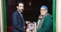 تكريم سمير عبدالباقى بمهرجان الأراجوز المصرى ومناقشة ديوانه عن الأراجوز