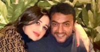 أحبك أكتر ما تتخيلى العوضى يحتفل بعيد ميلاد ياسمين عبدالعزيز بصور رومانسية
