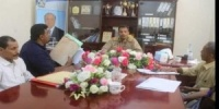 تقرير : لقاء محافظ أبين بقيادة الهيئة العامة للأراضي والمساحة... استعراض ومناقشة مواضيع وحدات الجوار