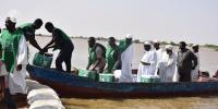 مركز الملك سلمان يوزع مساعدات إيوائية لمتضرري سيول السودان