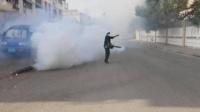بالصور مركز الملك سلمان للإغاثة يكافح حمى الضنك في عدن