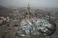 الأرصاد استمرار هطول الأمطار على مكة المكرمة