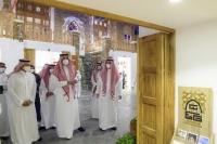 أمير المدينة ي دشن مشروع العيني ة وسوق سويقة