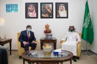 نائب وزير الخارجية يستعرض العلاقات مع سفير تركيا