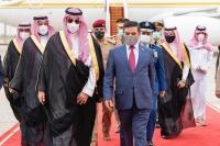 نائب وزير الدفاع يبحث آفاق التعاون مع الرئيس العراقي ورئيس الوزراء