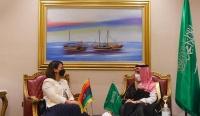 وزير الخارجية ونظيرته الليبية يبحثان العلاقات الثنائية