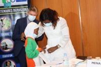 السفير السبيعي يشارك في دائرة مستديرة بكوت ديفوار