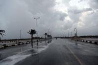 الأرصاد أمطار رعدية على جنوب وغرب المملكة