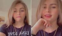 شابة بقمة الجمال وبشعر اشقر وعيون عسلية تغني أغاني يمنية وتثير مواقع التواصل الإجتماعي