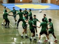 الأخضر يواصل استعداده في الصالة المغلقة لمواجهة أوزباكستان
