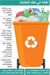 النفايات الطبية بالطائف رصد مخالفات جديدة وإغلاق محطة المعالجة