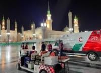الهلال الأحمر بالمدينة يستقبل أكثر من 17 ألف مكالمة خلال ثلثي رمضان