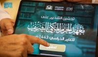 السديس يدشن رابط التقديم الإلكتروني لمعهد الحرم المكي الشريف للعام الدراسي القادم