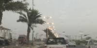 تحذير من أمطار رعدية ورياح تحد الرؤية على القنفذة والليث