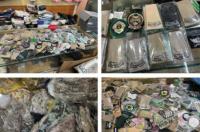 الرياض إغلاق 4 محلات وضبط 600 بدلة عسكرية و2500 قطعة من الأنواط والرتب والشعارات المخالفة