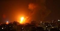 إسرائيل تقصف غزة ردا على إطلاق صاروخ من القطاع على جنوبها بعد العثور على نفق يمتد إلى أراضيها