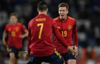 لاعب إسبانيا يعلق على هدفه القاتل