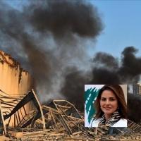 وزيرة الإعلام اللبنانية تقدم استقالتها بعد هول كارثة بيروت أتقد م باستقالتي من الحكومة