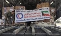 الهلال الأحمر الكويتي يقدم 36 طنا من المواد الطبية لـ لبنان