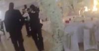 فرار عريس وعروس من حفل الزفاف والشرطة تلقي القبض على المعازيم