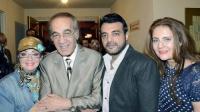 أبناء محمود ياسين يحيون ذكرى الأربعين لوالدهم الراحل برسائل مؤثرة