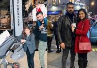 أحدث ظهور لابنتي مي عمر ومحمد سامي من الأكثر شبه ا بالأم