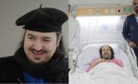 تطورات مبشرة في حالة خالد سامي رغم الغيبوبة ونجله لن أفقد الأمل