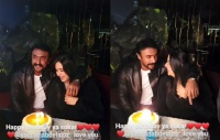 فيديو منى زكي تحتفل بعيد ميلاد ياسمين عبدالعزيز الـ41 بحضور أحمد العوضي