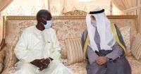 محمد العبدالله ينقل تعازي سمو الأمير في وفاة رئيس النيجر الأسبق