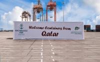 ميناء الملك عبدالعزيز وصول 27 حاوية بعد استئناف الحركة التجارية مع قطر