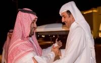 أمير قطر يطمئن على صحة ولي العهد السعودي ويؤكد ندعم استقرار وسيادة المملكة