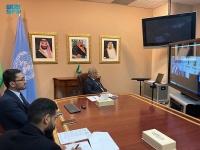 السفير المعلمي يلتقي بالمندوب الدائم لكوريا الجنوبية لدى الأمم المتحدة