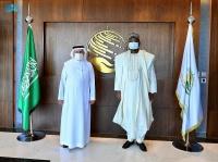 الدكتور الربيعة يلتقي بسفير جمهورية بنين لدى المملكة