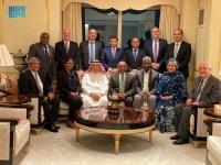 السفير المعلمي يحتفي برئيس الدورة الـ76 للجمعية العامة للأمم المتحدة