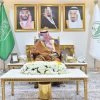 أمير نجران يستقبل قائد لواء الأمير تركي بن عبدالعزيز الآلي بالحرس الوطني