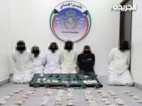 ضبط شبكة من 6 مواطنين تقوم بإدخال المواد المخدرة إلى البلاد