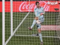 كورتوا يعمق جراح الملكي وفوز صعب لأتلتيكو مدريد