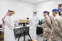 رئيس هيئة الأركان العامة يزور مركز الأمير سلطان للدراسات والبحوث الدفاعية