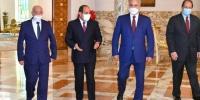 السيسي يلتقي حفتر وصالح بالقاهرة وأردوغان يعنف السراج