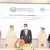 وزير الطاقة يشهد توقيع اتفاقية لتنفيذ محطة طاقة رياح في أوزبكستان
