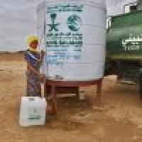 مركز الملك سلمان يواصل الإمداد المائي والإصحاح البيئي بحجة اليمنية