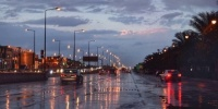 أمطار رعدية مصحوبة بزخات من البرد على 6 مناطق
